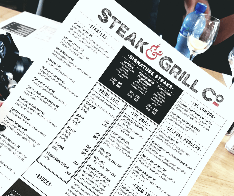 STEAK & GRILL CO