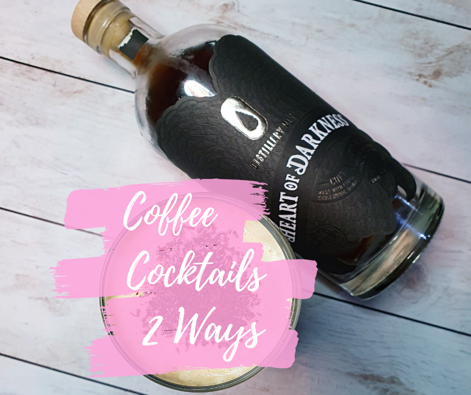 Coffee Cocktails with Heart of Darkness Liqueur